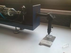 لیزر تحقیقاتی CO2 با تولن 150 وات ، نصب شده در دانشگاه صنعتی اصفهان